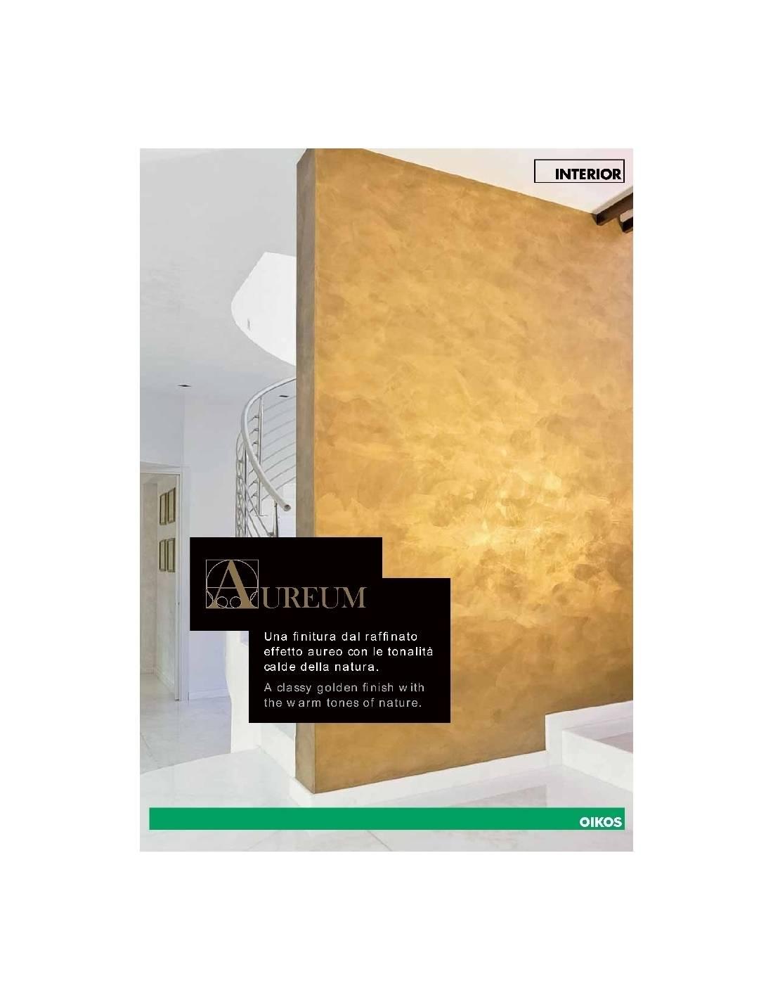 Cartella colori oikos aureum for Oikos pitture cartella colori