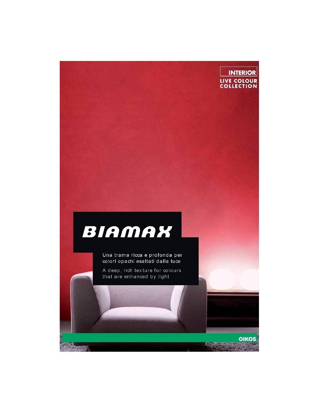 Cartella colori oikos biamax for Oikos pitture cartella colori