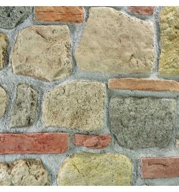 Pannello in pietra ricostruita art. misto contadino