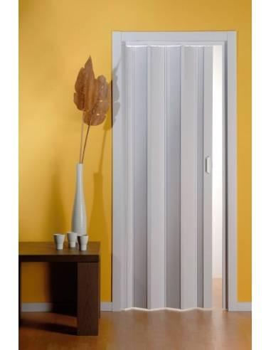Porta a soffietto in pvc pastello cieca for Porte a soffietto on line