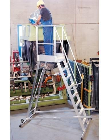 Frigerio scala mobile con doppia basetta stabilizzatrice e for Ugo cadel termocucine