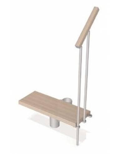 Kit gradino komoda scale in kit ark di fontanot for Ugo cadel termocucine