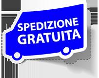 Spedizione gratuita per ordini superiori ad € 600 + IVA