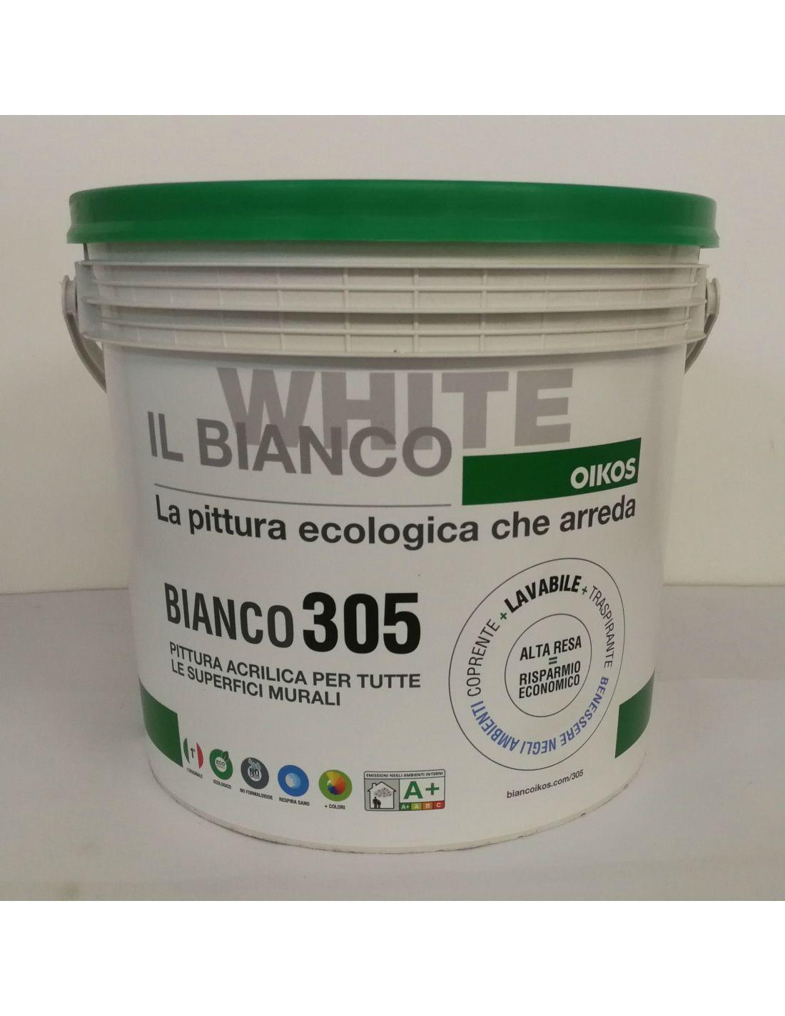 Migliore Pittura Per Interni bianco 305 by oikos, vendita online su esaem.it |solo qualità garantita