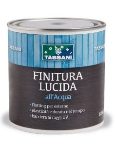 Finitura satinata all'acqua Tassani
