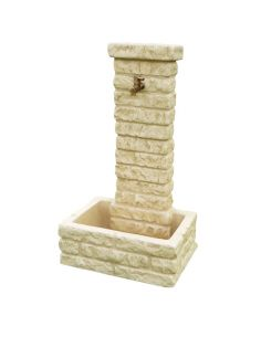Fontanella in pietra ricostruita - Memphis Bonfante - eSaem.it