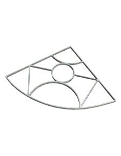 Griglia in acciaio - Triangolo - Bonfante - eSaem.it