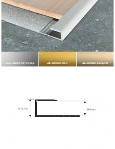 Vendita online profilo terminale Terminal in alluminio e ottone per pavimenti - eSAEM.it