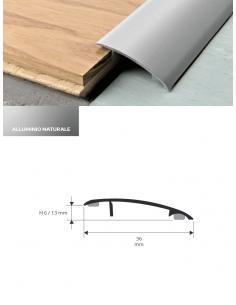 Vendita online profilo terminale Protrans in alluminio anodizzato per pavimenti - eSAEM.it