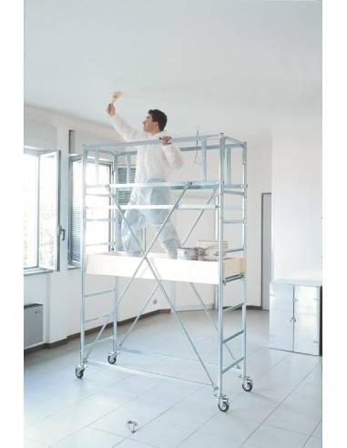 Mini ponteggio hobbistico Indoor per casa e piccoli lavori domestici - lavorare in sicurezza Frigerio Carpenterie - eSAEM.it