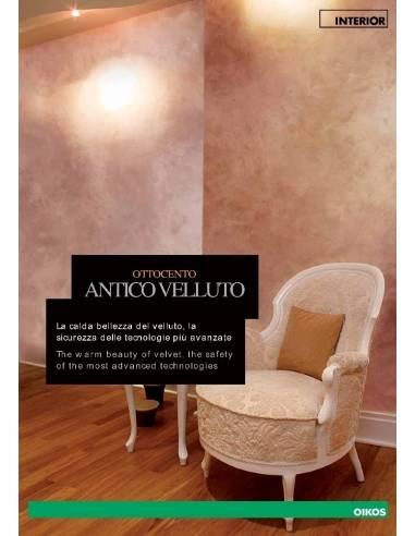 OIKOS Cartella colori OTTOCENTO Antico Velluto - eSAEM.it