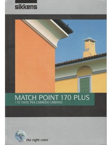 Cartella colori Match Point 170 Plus