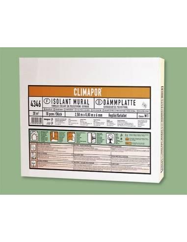 Climapor - Foglio di polistirolo - isolamento termico e acustico