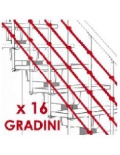 Kit cavetti paralleli (max 16 gradini)
