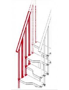Kit ringhiera esterna (MINI)
