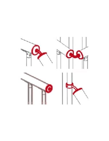 Raccorderia in ferro per corrimano (TECH - TIMBER - MINI)