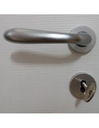 Maniglia CROMO SATINATO per porta a battente