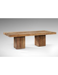 Tavolo con doppio basamento - eSAEM.it