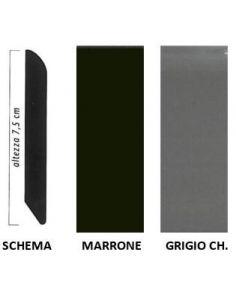 Vendita online profilo zoccolino Lux, battiscopa in PVC - ai prezzi più bassi d'Italia! - eSAEM.it