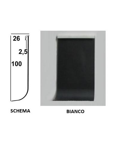 Vendita online profilo battiscopa sgusciato, zoccolino flessibile in PVC - ai prezzi più bassi d'Italia! - eSAEM.it