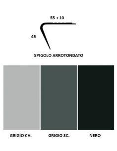 Vendita online profilo Paragradino con spigolo arrotondato in PVC - ai prezzi più bassi d'Italia! - eSAEM.it