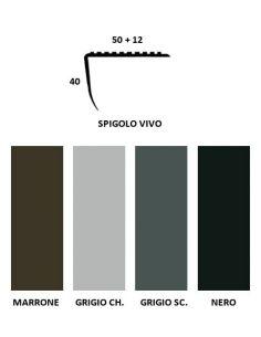 Vendita online profilo paragradino con spigolo vivo in PVC - ai prezzi più bassi d'Italia! - eSAEM.it