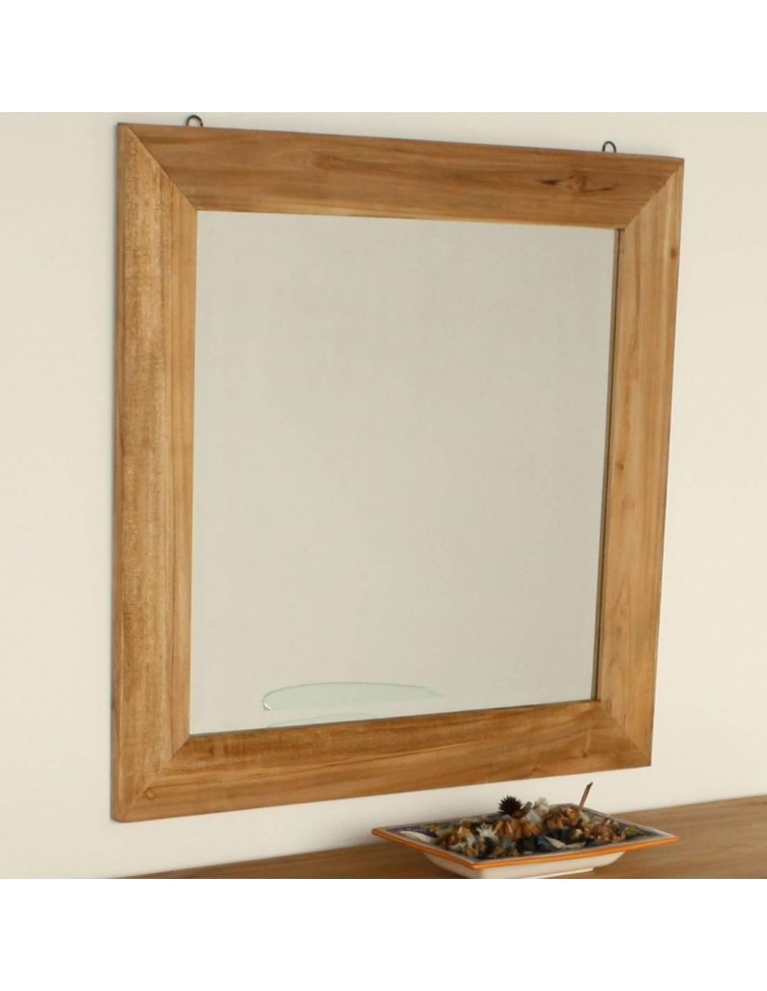 Specchio in legno massello - Specchio intero ...