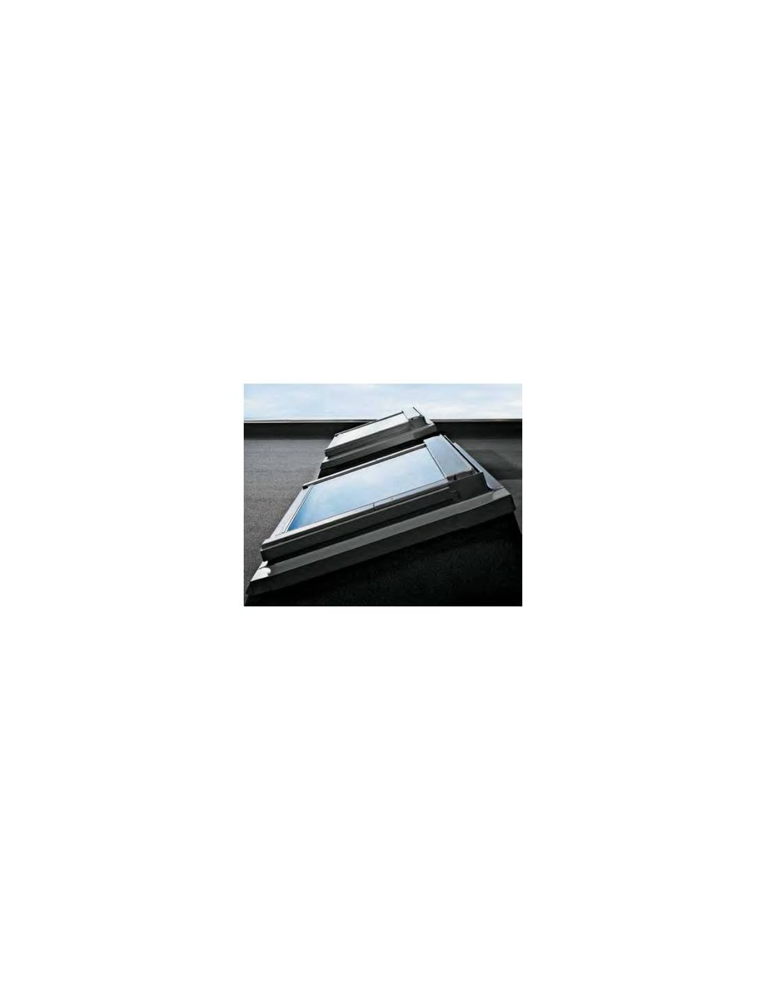 Velux ecx raccordo per tetti piani for Finestra velux ggl 404