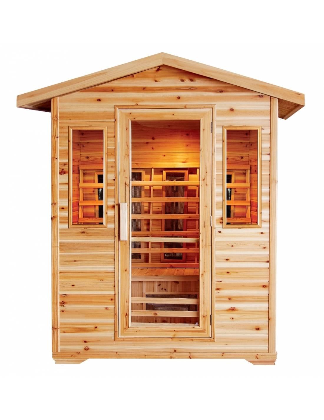 Sauna infrarossi emanuela - Sauna da esterno ...
