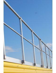 ALUSAFE - Parapetto di sicurezza in alluminio