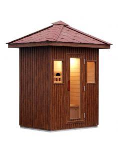 LUDOVICA (sauna infrarossi da esterno per 3 persone)