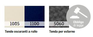 DOP - Tenda oscurante colori disponibili