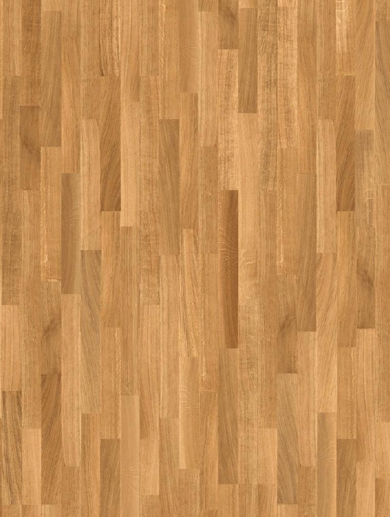 Pavimento in legno parquet 3 Strips Rovere Natur