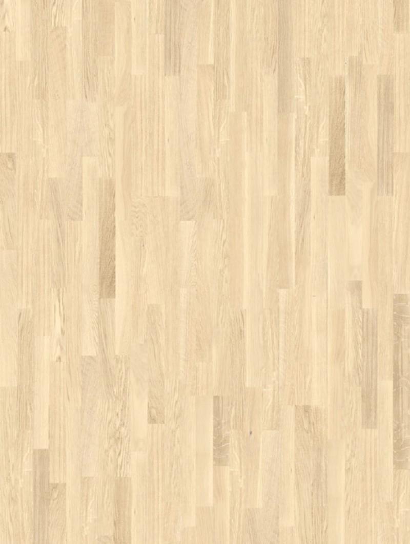 Pavimento in legno parquet 3 Strips Rovere Rustic Sbiancato