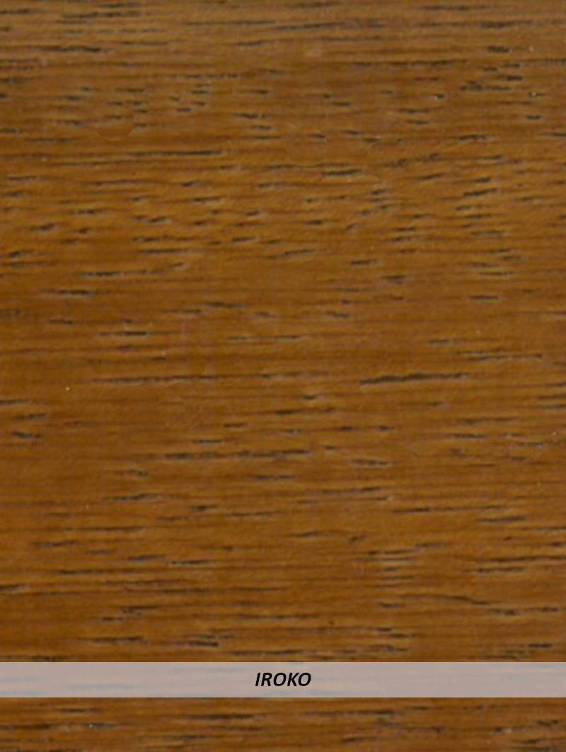 Battiscopa Legno 80x13 Iroko