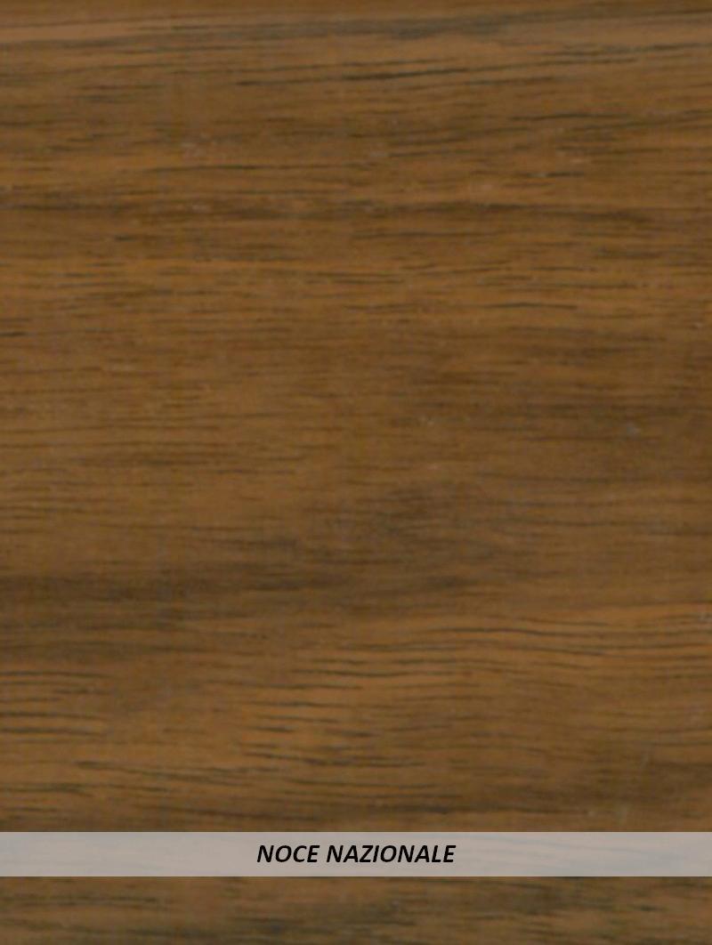 Battiscopa legno 80x13 Noce Nazionale