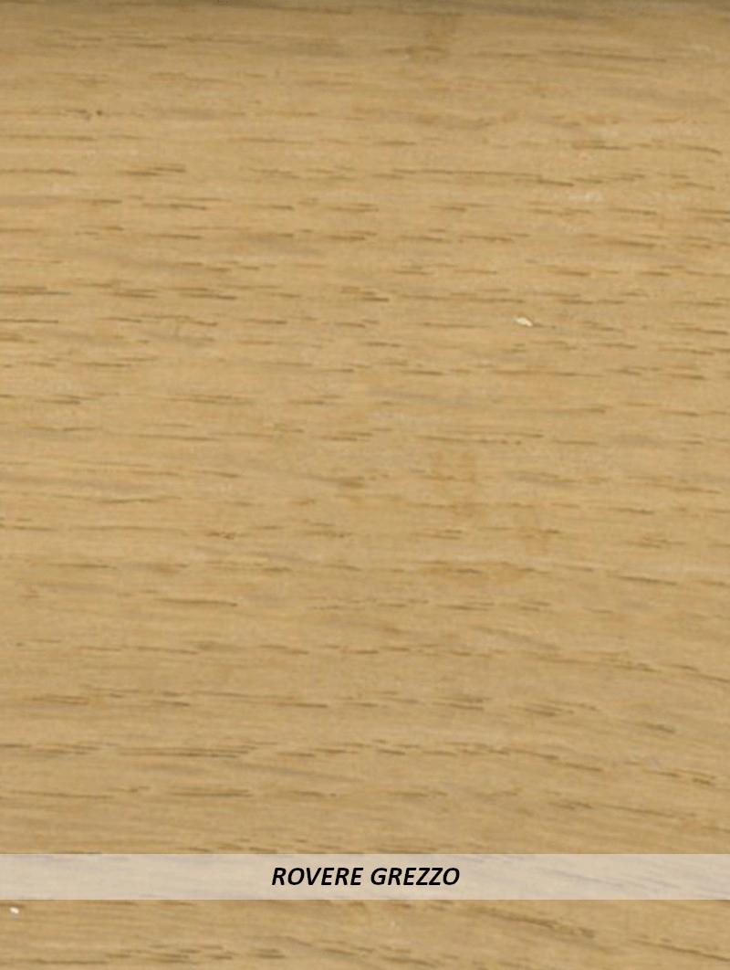 Battiscopa Legno 80x13 Rovere Grezzo
