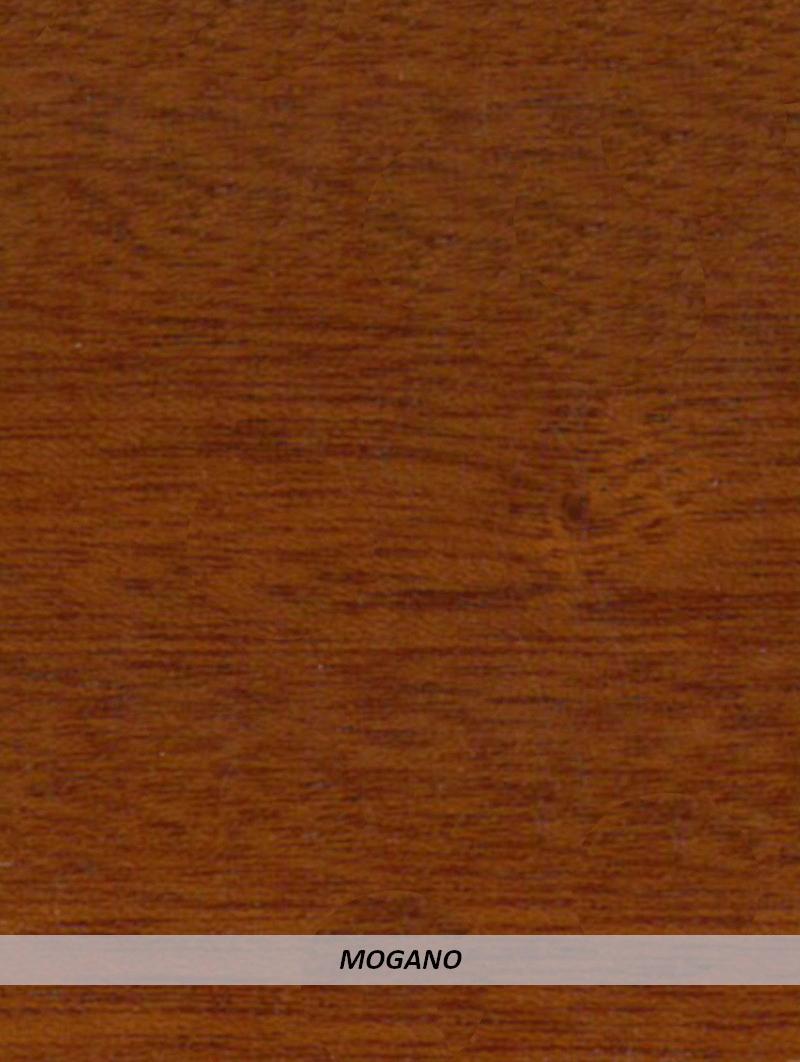 Angolare legno Ayous Mogano