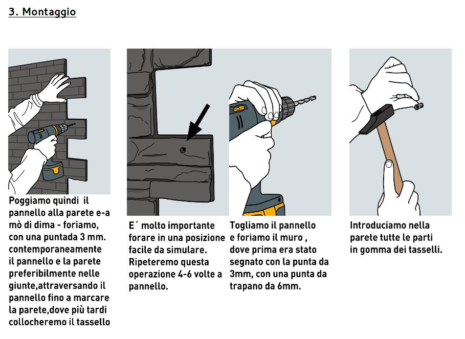 Istruzioni di montaggio - Passo 4