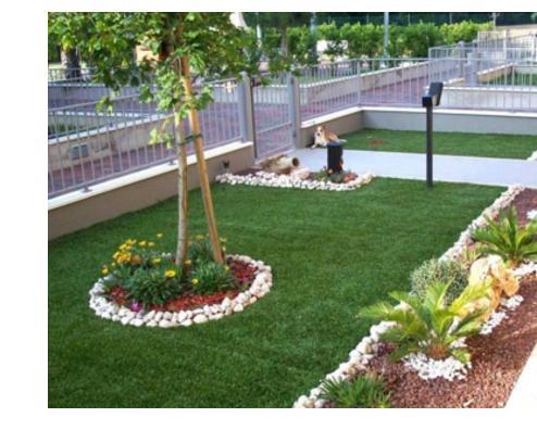 Erba sintetica vendita on line e prezzi for Arredo ville e giardini
