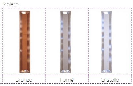 Colori vetri molati porte a soffietto in PVC