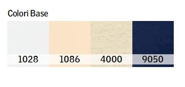 Tabella colori tende filtranti