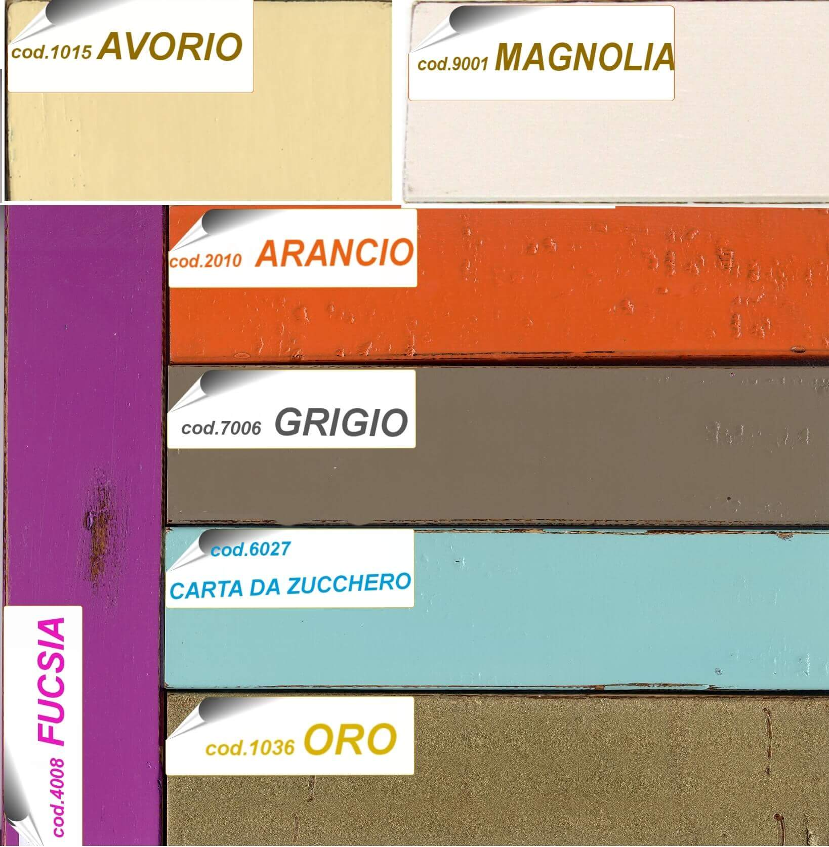 cartella vintage color
