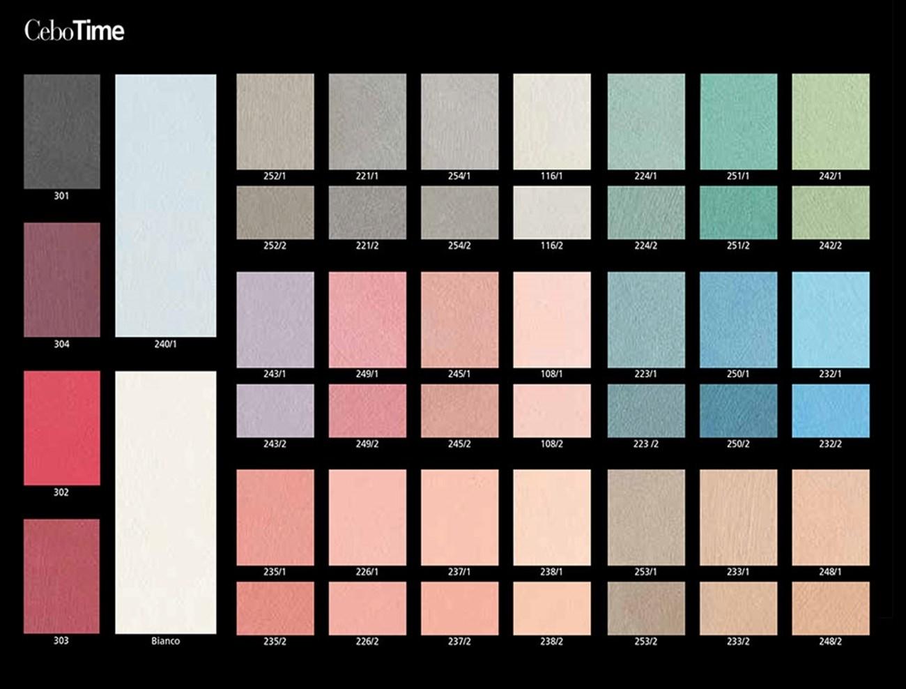 Elegant cartella colori cebotime with tabella colori pareti for Tabella colori per pareti interne