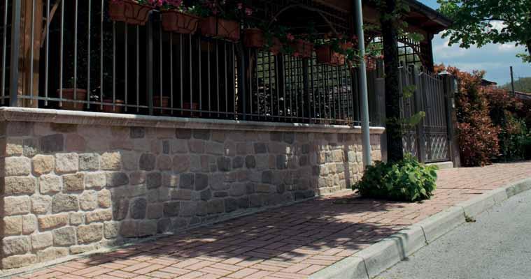 Pannello in pietra ricostruita Antichi Casati