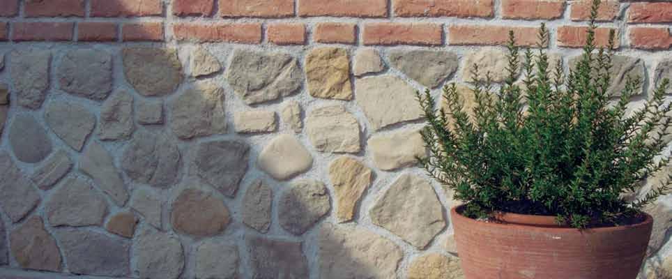 Pannello in pietra ricostruita Palladio