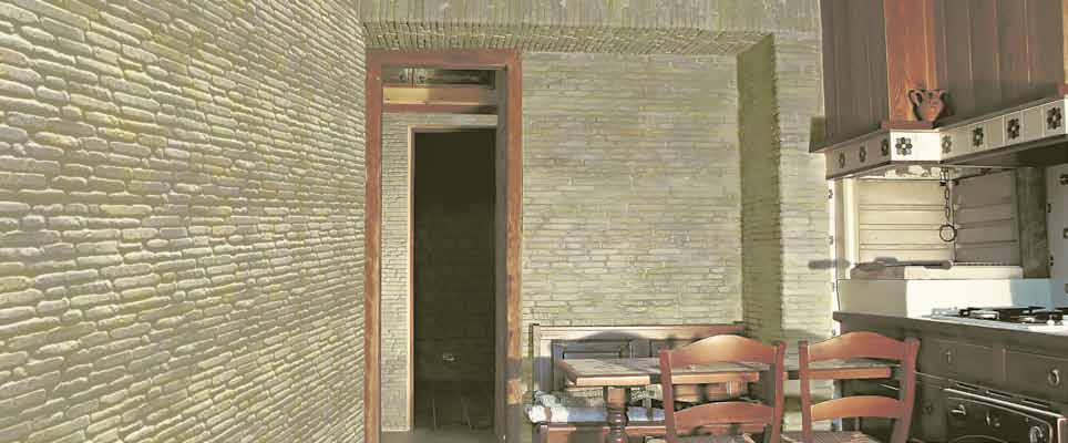 Pannello in pietra ricostruita Roma