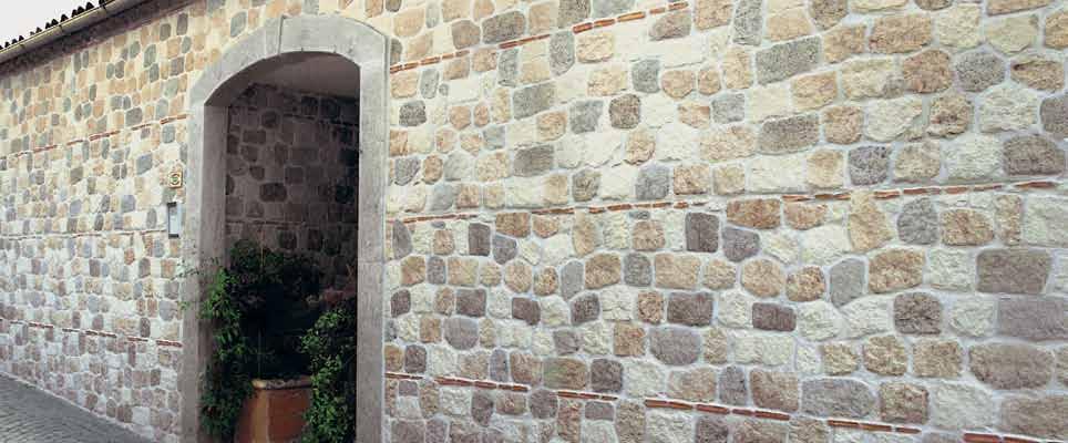 Pannello in pietra ricostruita Vecchio Mulino