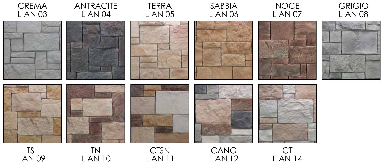 Pietra ricostruita singola ANTICHI CASTELLI